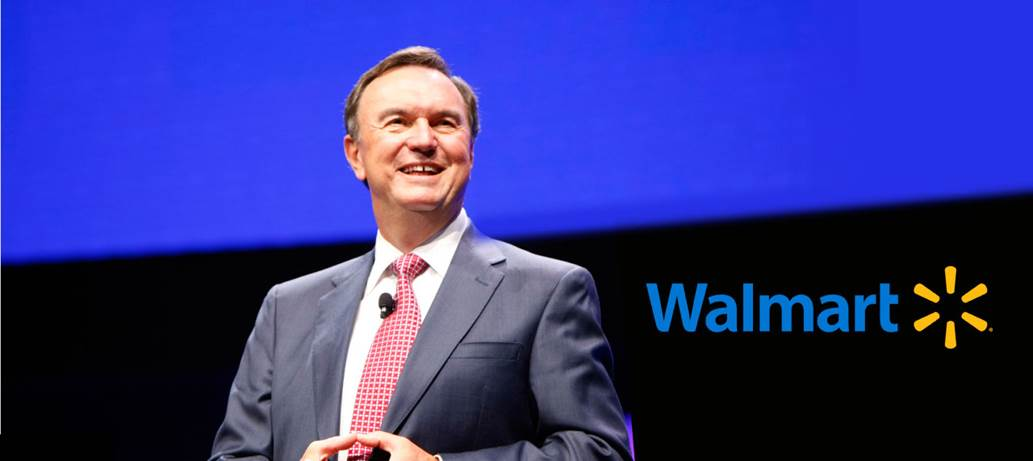 Enjoy lunch and hear from former CEO of Wal-Mart, Mike Duke (IE 71, PhD 2011)