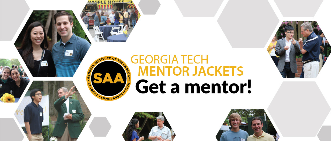 Sign up for Mentor Jackets and get a mentor!
